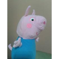 Boneco George Peppa Pig Pelúcia 30cm Pronta Entrega