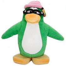 Club Penguin Pelucia Geek Pinguim Sem Moedatia Aunt