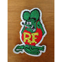 Rat Fink Ed Big Daddy Roth - Aplique Para Roupa (7,5x7cm)