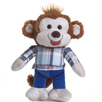 Macaco De Pelúcia 40cm - Chimba