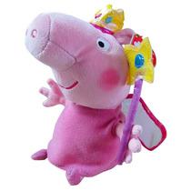 Peppa Pig Princesa De Pelúcia Ty Babyou