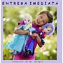 Frozen Kit 2 Bonecas Pelúcia Elsa E Ana - Envio Imediato