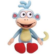 Boneco Macaco Botas Dora Aventureira Pelucia 40cm