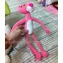 Pelúcia A Pantera Cor De Rosa Pink Panther 40cm Extra Macia
