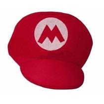 Boina Mario Cosplay - Super Mario Bros