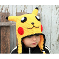 Touca Croche Pikachu - Pokemon - Adulto Ou Bebe - Art Crochê