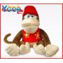 Boneco Pelúcia Diddy Kong Super Mario - Pronta Entrega
