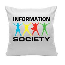 Almofada Information Society Pop Music 30 X 30 Cm