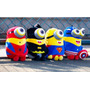 Minions Avengers Kit 6 Personagens 20-23cm Pronta Entrega