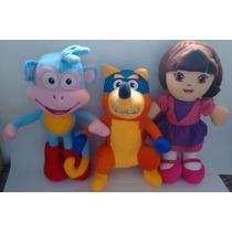 Turma Da Dora Aventureira - Botas - Raposo - Dora Bailarina