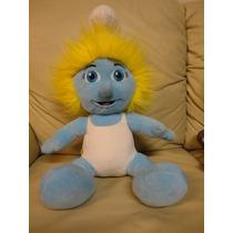 Pelucia Brinquedo Coleção Smurfs Smurfete Original 45cm