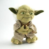 Pelúcia Star Wars - Mestre Yoda (20cm De Altura)