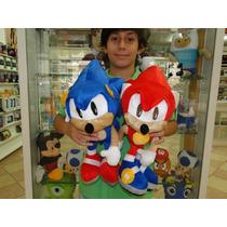 Sonic Pelúcia 45 Cm!!! Boneco Do Sonic Em Pelúcia