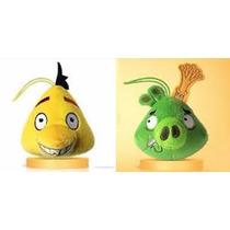 Angry Birds Pelúcias Lacradas Mcdonalds Mc Lanche Feliz 2016