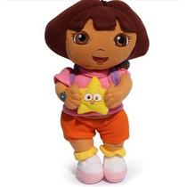 Boneca Dora Aventureira Pelucia 25cm Pronta Entrega