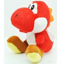 Yoshi De Pelucia 20cm - Vermelho - Nintendo Super Mario
