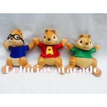 Alvin E Os Esquilos Kit Com 3