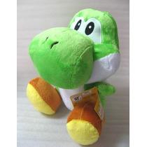 Pelúcia Super Mario Bros Yoshi - Nintendo 30 Cm