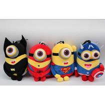 Minions Super Herói Avengers Pelúcia Musical