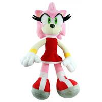 Pelúcia Amy Rose Turma Do Sonic Grande 35cm Boneco Rosa