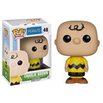 Peanuts Boneco Charlie Brown Pop Funko 10cms