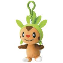 Chaveiro Pelúcia Pokémon Chespin