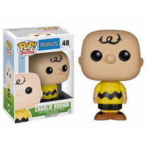 Pop Funko Peanuts Boneco Charlie Brown Minduin