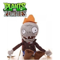 Pelucia Zumbi Plants Vs Zombies 28 Cm Novo