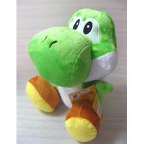 Pelúcia Super Mario Bros Yoshi - Nintendo 15 Cm