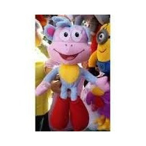 Boneco Pelucia Macaco Botas Amigo De Dora Aventureira Grande
