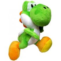 Super Mario Bros Yoshi Pelucia 32cm