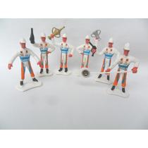 Equipe De Fórmula 1 Bonecos Miniatura Brinquedo De Plástico