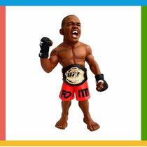 Boneco Colecionável Jon Jones Champion Oficial - Ufc