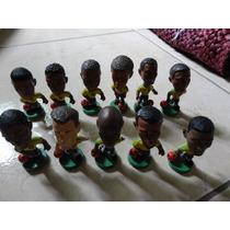 Coleção De Bonecos Seleção Brasileira Coca Cola Dec 98