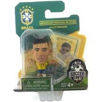Copa 2014 - Lote 15 Mini Craques Brasil Neymar Hulk Oscar