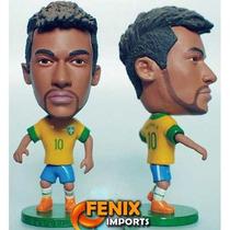 Mini Craque Neymar #10 Brasil Seleção Novo Kodoto