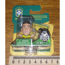 Minicraque Neymar Jr Original Cbf Miniatura Boneco Copa