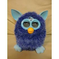 Boneco Pelucia Furby Interativo Azul Funcionando Hasbro