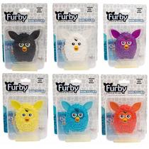 Coleção Completa Miniaturas Furby Licenciados Hasbro Bonecos