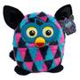 Boneco De Pelúcia Furby Boom Não Interativo Preto E Azul