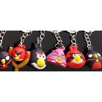 Lembrancinha Festa Angry Bird Chaveiro 12 Peças - Variados