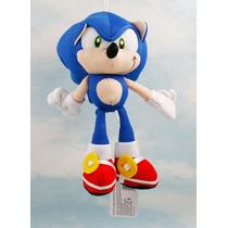 Sonic The Hedgehog Pelúcia Personagem Games Frete Grátis