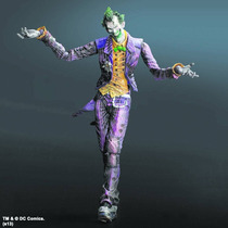 Batman Arkham City Joker Action Figure (square Enix) Coringa