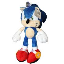 Pelúcia Super Sonic The Hedgehog! 25cm