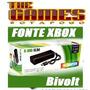 Fonte Xbox 360 Slim 135w 110~245v - Bivolt