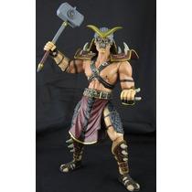 Boneco Shao Kahn Mortal Kombat Jazzwares 18cm Raríssimo