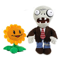 Plants Vs Zombies Pelúcia Zumbi & Sunflower Jazwares