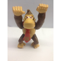 Boneco Do Donkey Kong Miniatura Da Turma Do Super Mario Bros