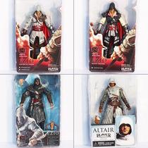 Action Figure Assassins Creed Neca Kit 4 Bonecos 18cm
