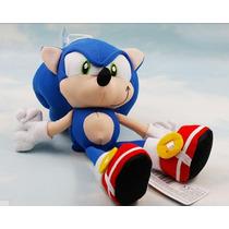 Pelúcia Super Sonic The Hedgehog! 21cm. Pronta Entrega